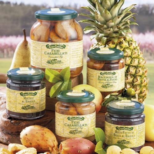 Fruits of dessert & Honey